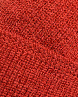 Dehen 1920  Wool Knit Watch Cap - Forster Red