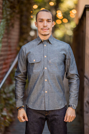 Railcar Fine Goods Felon Shirt - 001 - Franklin & Poe