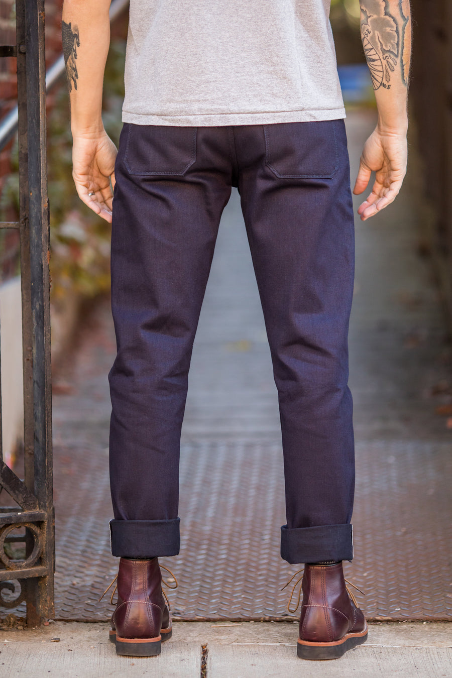 Freenote Cloth Portola Taper - 14.75oz. Blue Black Denim - Franklin & Poe