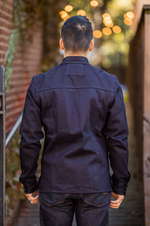 Indigofera Copeland Selvedge Shirt - Blue/Black - Franklin & Poe