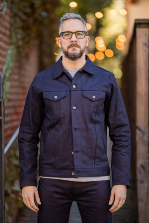 3sixteen Type 3s Denim Jacket - Shadow Selvedge