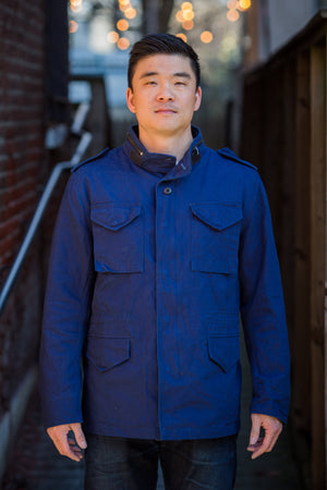 3sixteen x Alpha Industries M-65 Field Jacket - Indigo - Franklin & Poe