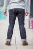 Iron Heart IH-777S-14 Indigo 14 oz. Selvedge Denim - Super Slim Tapered Cut