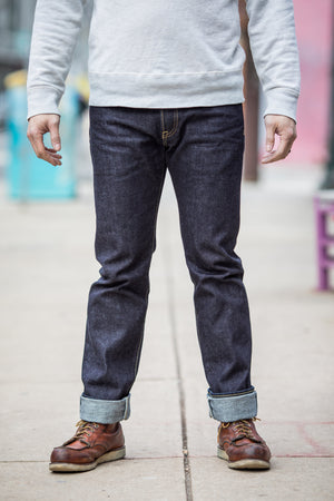 Iron Heart IH-777S-14 Indigo 14 oz. Selvedge Denim - Super Slim Tapered Cut - Franklin & Poe