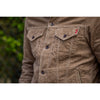 Iron Heart IHJ-69 14 Wale Corduroy Modified Type III Jacket - Khaki - Franklin & Poe