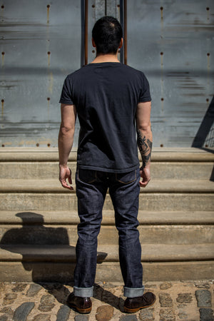 Shockoe Atelier Slim Kojima - 14.5 oz Collect Mills Denim - Franklin & Poe