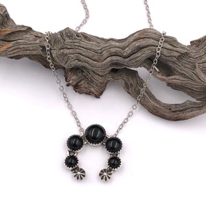 Numi Olive Black Onyx Naja Necklace - Franklin & Poe
