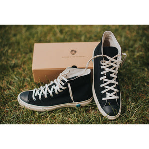 Shoes Like Pottery SLP01 JP High Top Sneaker- Black - Franklin & Poe
