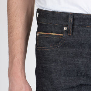 Naked & Famous Denim Chinese New Yeare Gold Ox - Weird Guy