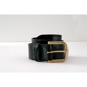 "Leather Works Minnesota Classic Belt 1 1/2"" - Black - Franklin & Poe"