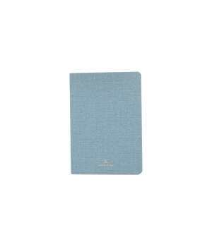 Appointed Mini Linen Jotter - Chambray - Franklin & Poe