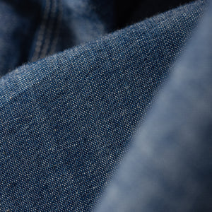 Iron Heart IHSH-133 6oz. Selvedge Chambray Work Shirt - Natural Indigo - Frankl