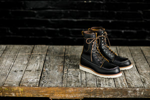 Red Wing Heritage Billy Boot 8829 - Black Klondike