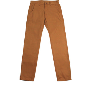 Railcar Fine Goods Flight Trouser - Camel Duck Canvas - Franklin & Poe