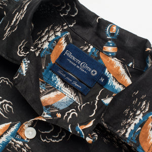Freenote Cloth Hawaiian - Black