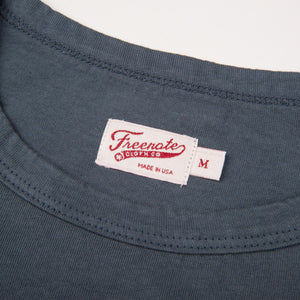 Freenote Cloth 9oz Pocket T-Shirt - Blue