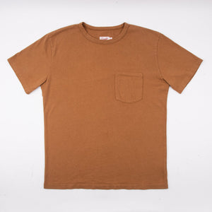 Freenote Cloth 9oz Pocket T-Shirt - Tobacco