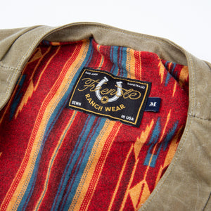 Freenote Cloth Calico Vest - Tobacco