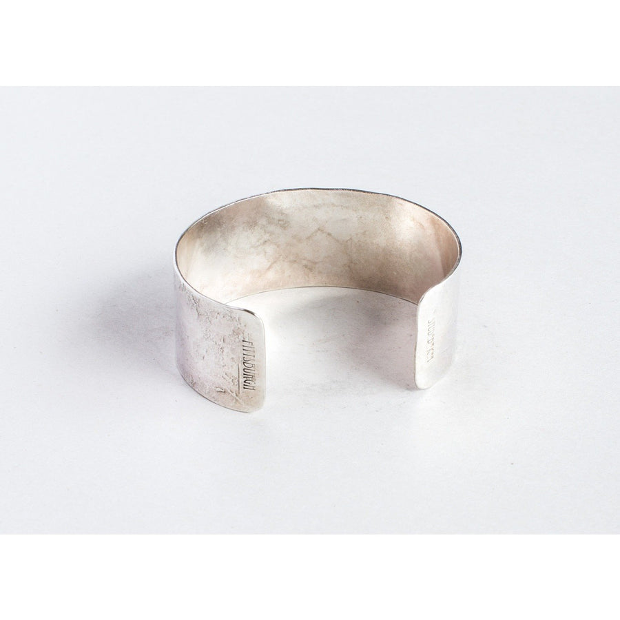 Studebaker Metals Broad Cuff - Polished Silver - Franklin & Poe