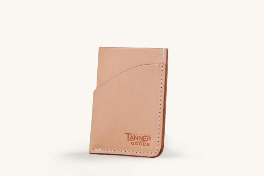 Tanner Goods Minimal Card Wallet - Natural - Franklin & Poe