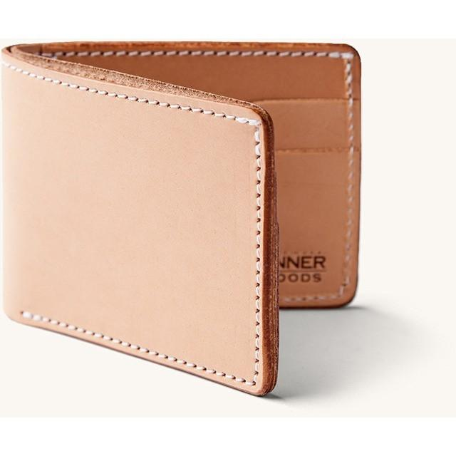 Tanner Goods Utility Bifold Natural - Franklin & Poe