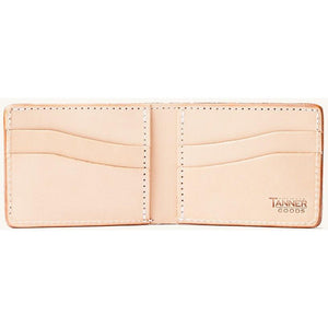 Tanner Goods Utility Bifold - Natural - Franklin & Poe