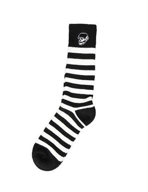 Left Field Skull Head Tube Socks - Jailhouse Rock