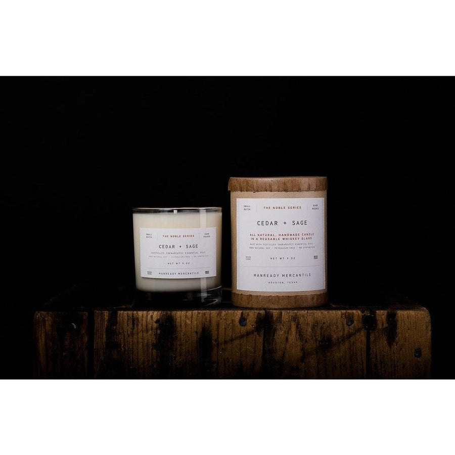 Manready Mercantile Noble Series Soy Candle - Franklin & Poe
