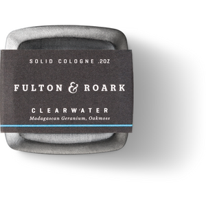 Fulton & Roark Solid Cologne - Clearwater - Franklin & Poe