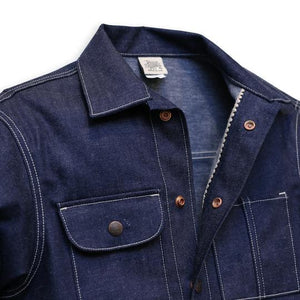 Railcar Fine Goods Denim Chore Coat