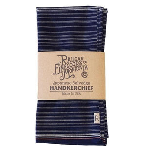 Railcar Fine Goods Handkerchief - Japanese Selvedge - Franklin & Poe