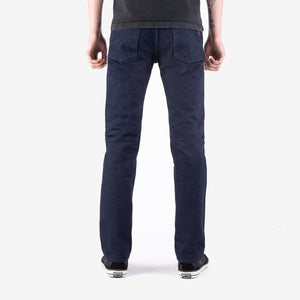 Iron Heart IH-666S-19ib 19oz Selvedge Denim Slim Straight Cut - Indigo/Black