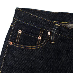 Iron Heart IH-777S-21 Indigo 21 oz. Selvedge Denim - Super Slim Tapered Cut - Franklin & Poe