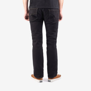 Iron Heart IH-777S-21mb 21oz Selvedge Denim Slim Tapered Cut - Mad Black