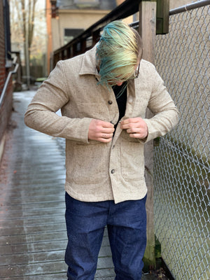 Rogue Territory Harbor Jacket - Oatmeal - Franklin & Poe
