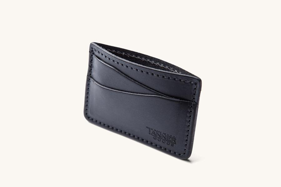 Tanner Goods Journeyman - Black - Franklin & Poe