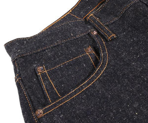 Left Field NYC Chelsea Jean - 16 oz Neppy, slubby extra long staple cotton denim - Franklin & Poe