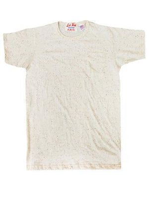 Left Field Confetti Ringer Nub Pocket Tee