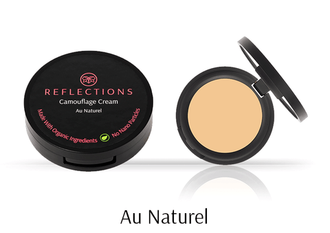 Camouflage Cream (3g) - Au Naturel-Reflections Organics - Natural & Organic Makeup