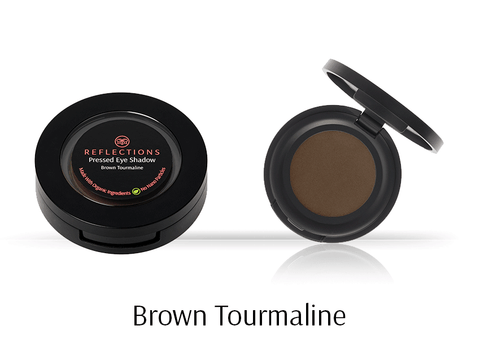 Pressed Eye Shadow (2.5g) - Brown Tourmaline-Reflections Organics - Natural & Organic Makeup