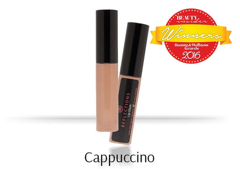Lip Glaze (5ml) - Cappuccino-Reflections Organics - Natural & Organic Makeup