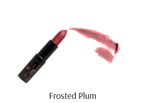 Lip Butter (4.5g) - Frosted Plum-Reflections Organics - Natural & Organic Makeup