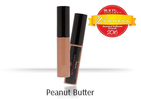 Lip Glaze (5ml) - Peanut Butter-Reflections Organics - Natural & Organic Makeup