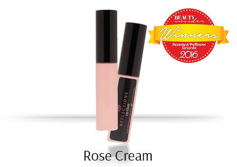 Lip Glaze (5ml) - Rose Cream