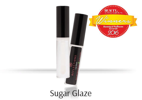 Lip Glaze (5ml) - Sugar Glaze-Reflections Organics - Natural & Organic Makeup