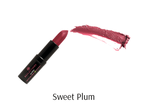 Lip Butter (4.5g) - Sweet Plum-Reflections Organics - Natural & Organic Makeup