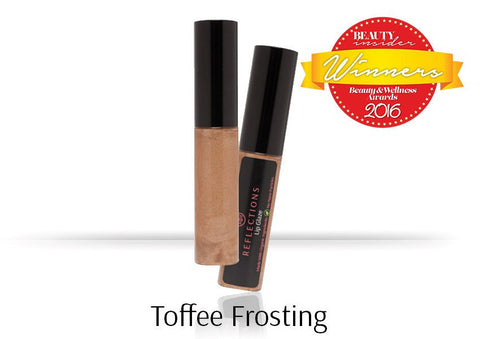 Lip Glaze (5ml) - Toffee Frosting-Reflections Organics - Natural & Organic Makeup