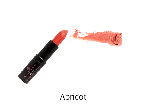 Lip Butter (4.5g) - Apricot-Reflections Organics - Natural & Organic Makeup