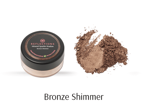 Mineral Sparkle Shadow (2g) - Bronze Shimmer-Reflections Organics - Natural & Organic Makeup