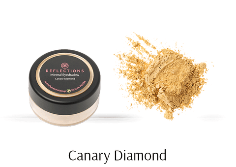 Mineral Eye Shadow (2.5g) - Canary Diamond